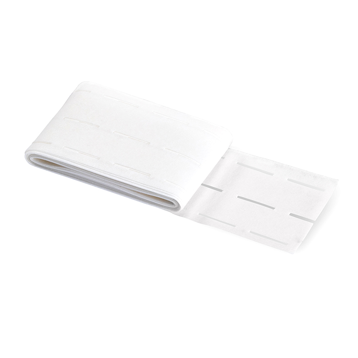 Medvloga za pas, lepljiva, 25 mm, Prym, 997201, bela