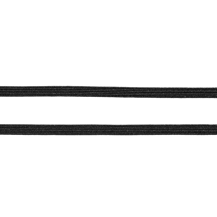 Elastika, 5 mm, 24482-4, črna