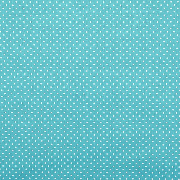 Bombaž, poplin, pike, 13984-14, svetlo modra