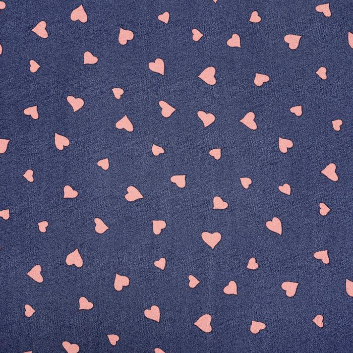 Jeans, srajčni, srčki, 22521-25, roza