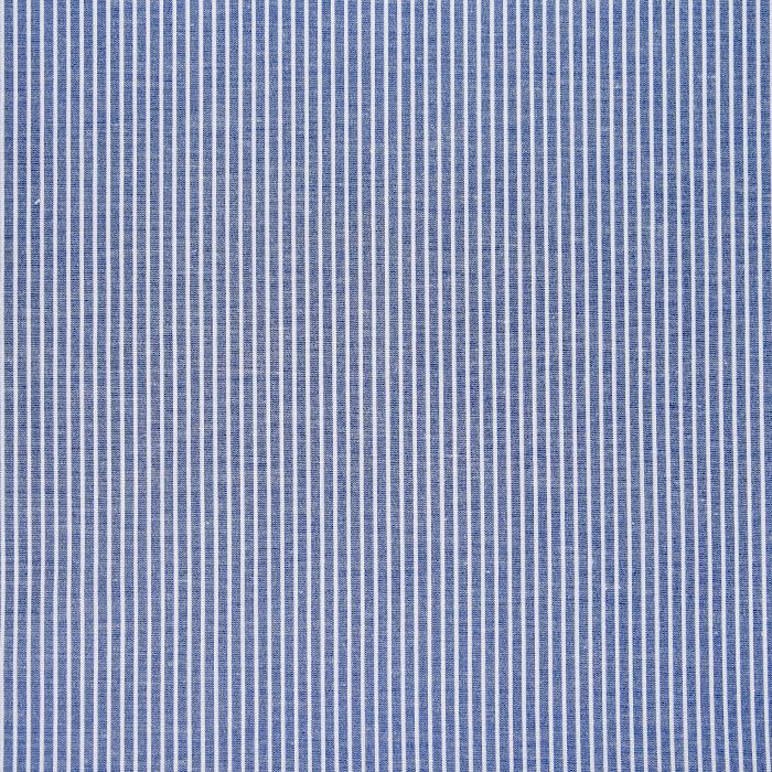 Tkanina, bombaž, poliester, črte, 22521-38, modra