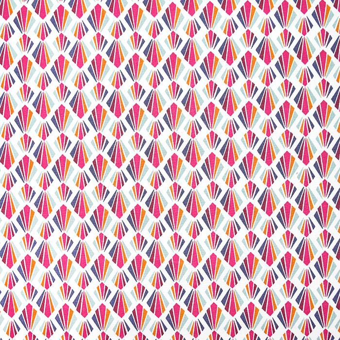 Bombaž, poplin, geometrijski, 19483-3