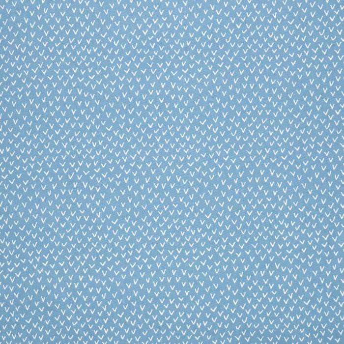 Bombaž, poplin, tisk, 23280-09, modra