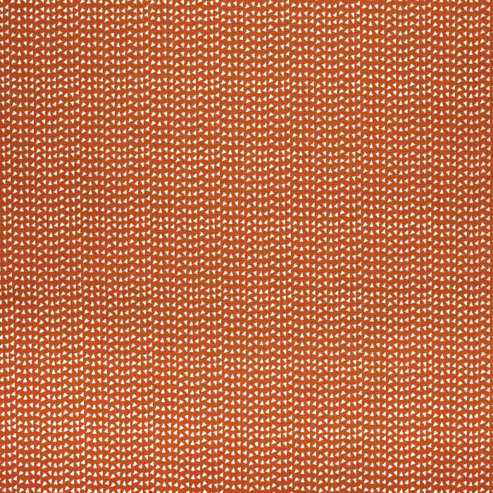 Bombaž, poplin, geometrijski, 23288-13, opečna