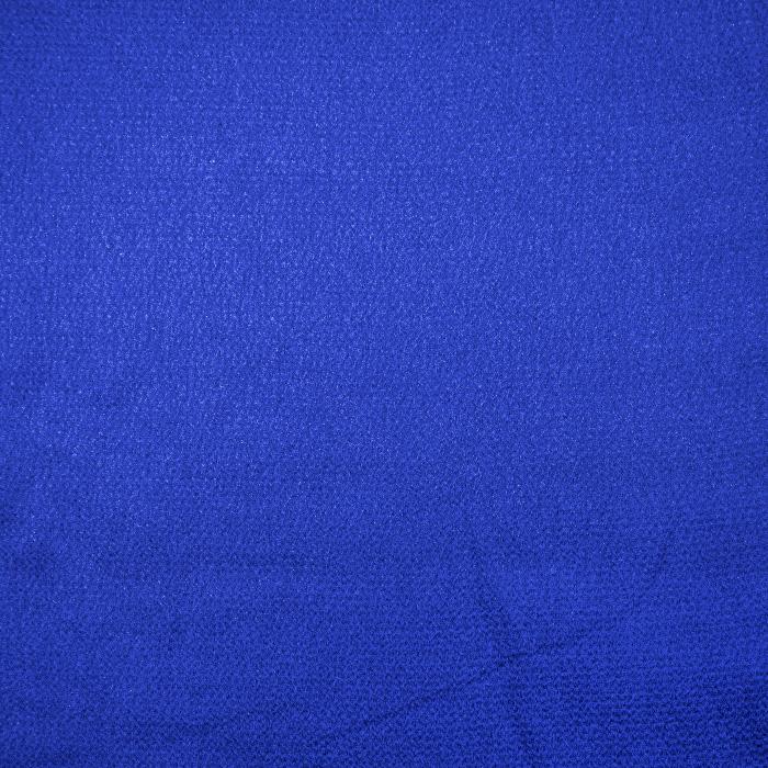 Saten krep, poliester, 18811-007, modra