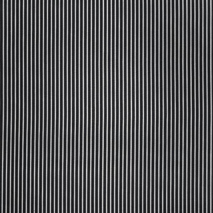 Bombaž, poplin, črte, 23367-001, črna