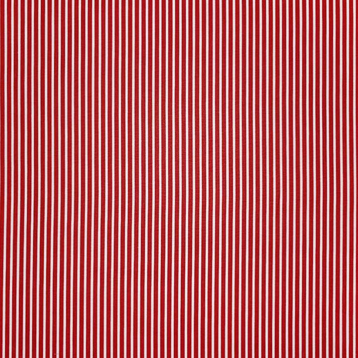 Bombaž, poplin, črte, 23367-004, rdeča