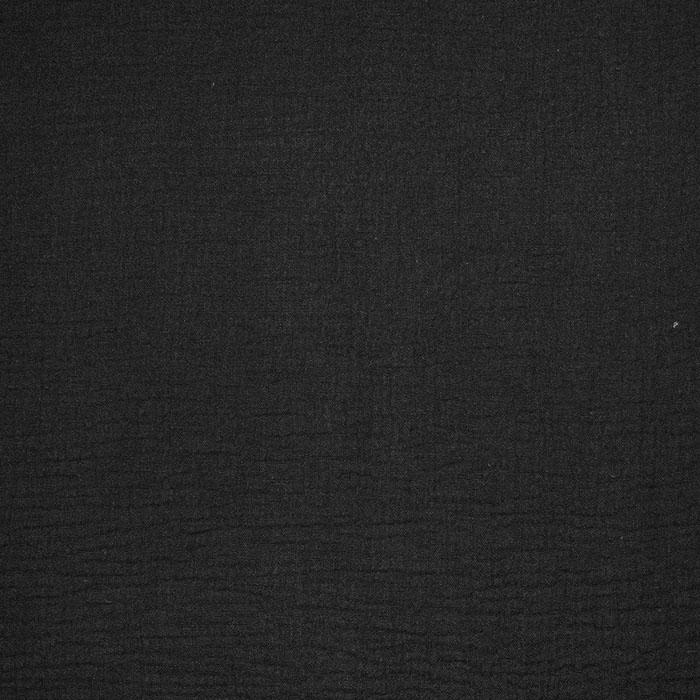 Tetra tkanina, dvojna, 4827-91, črna