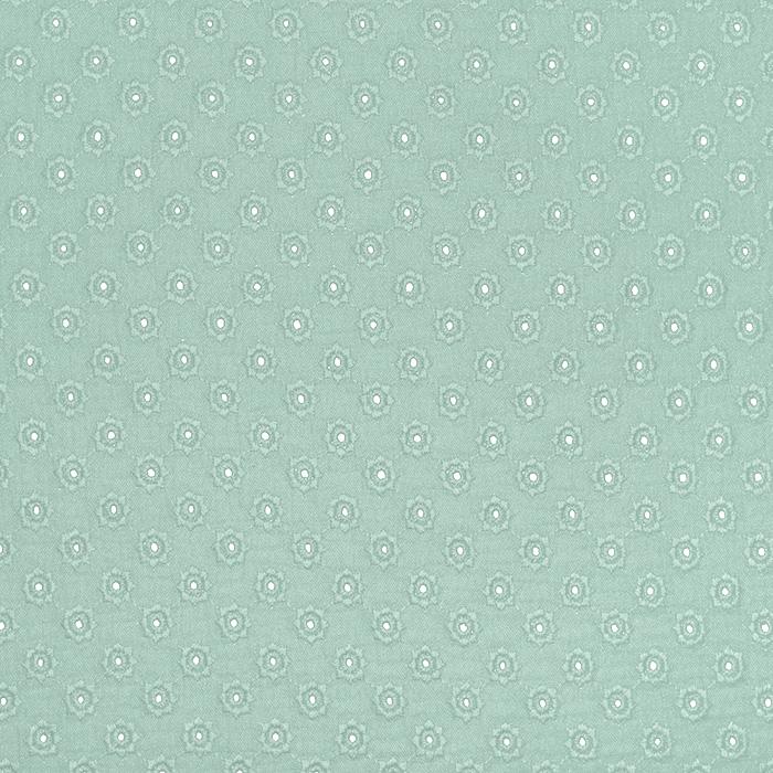 Tetra tkanina, dvojna, rišelje, pike, 23413-008, mint