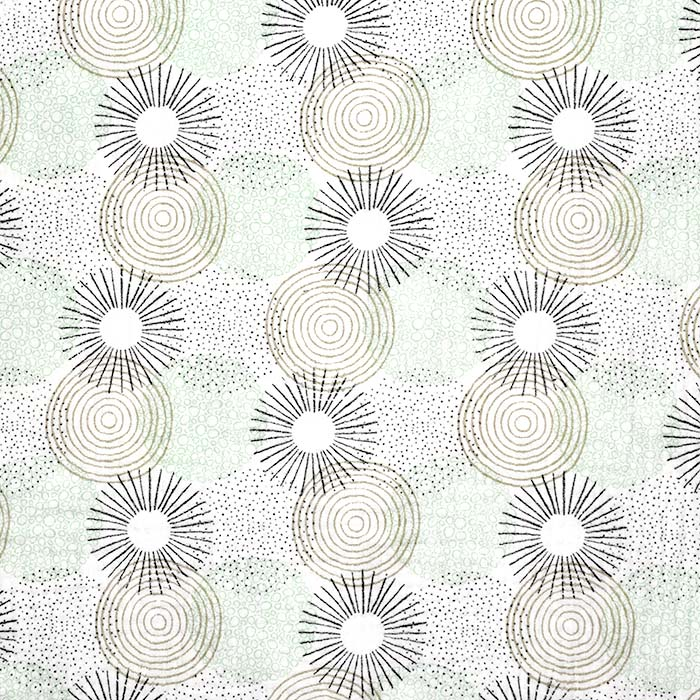 Tetra tkanina, dvojna, geometrijski, 23590-10, mint
