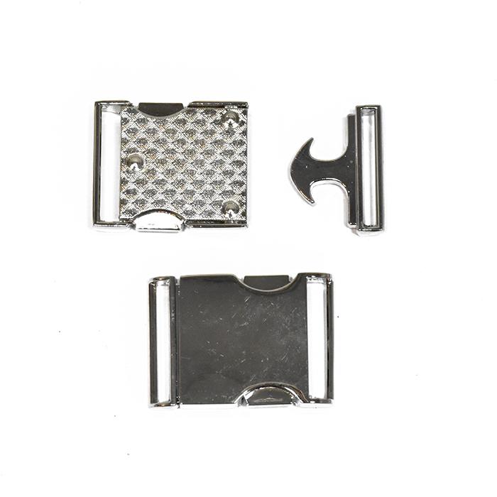 Kopča, metalna, 25 mm, 23622-101, srebrna