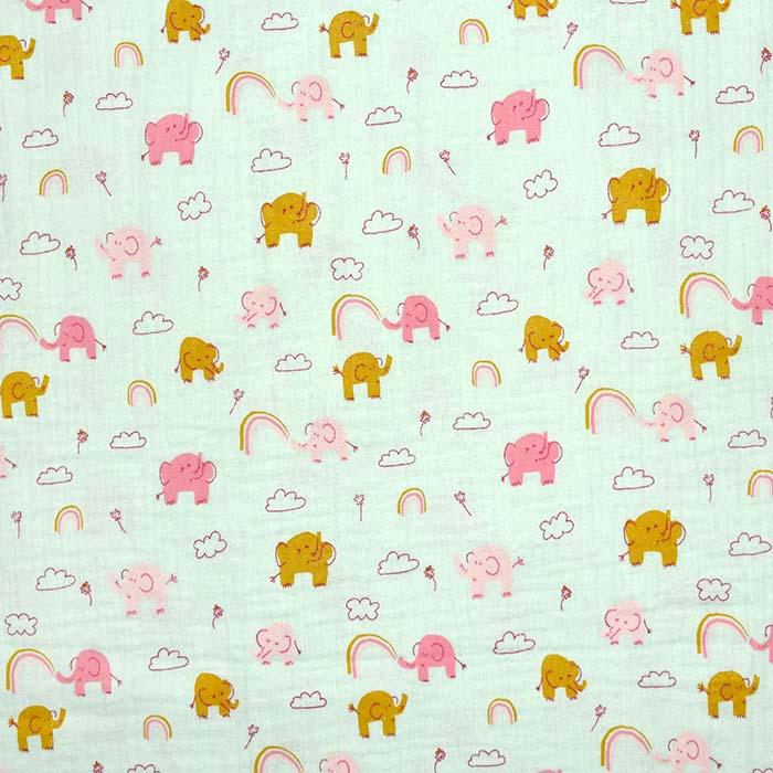 Tetra tkanina, dvostruka, dječji, 23645-004, mint