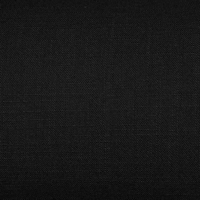 Bombaž, tanek, mečkanka, 4850-2, črna
