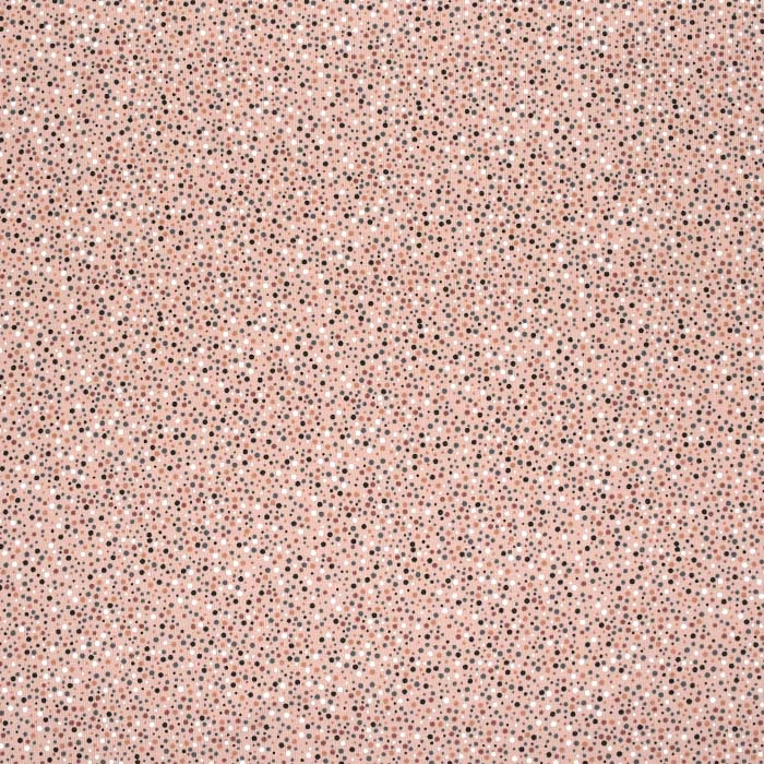 Jersey, pamuk, točkice, 11425-032, ružičasta