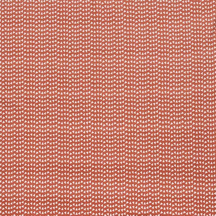Jersey, bombaž, geometrijski, 23811-13, opečna