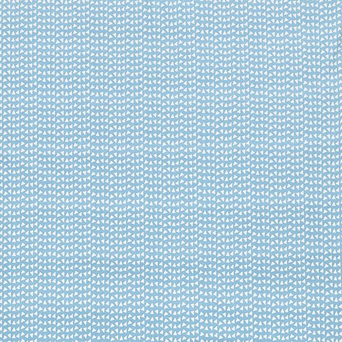 Jersey, bombaž, geometrijski, 23811-16, svetlo modra
