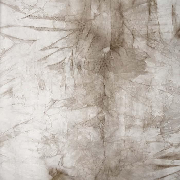 Poliamid, elastan, mat, tie-dye, 23850-6, sivobež