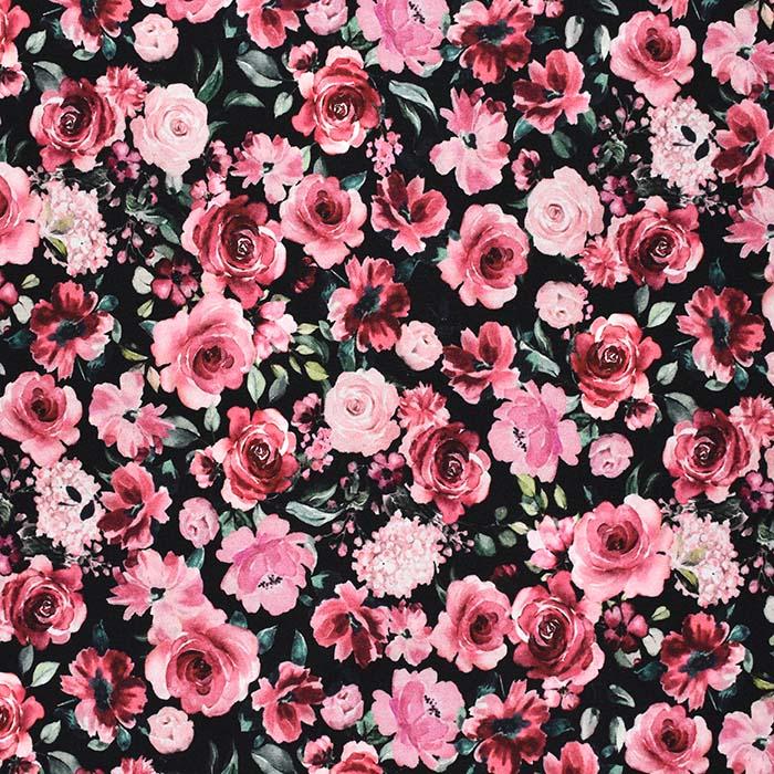Prevešanka, kosmatena, cvetlični, 23881-001, črna
