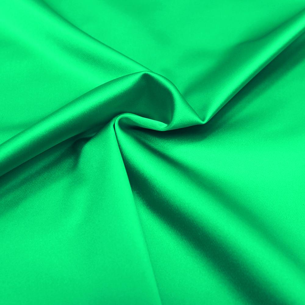 Saten, debelejši elastičen 018_12034 zelena