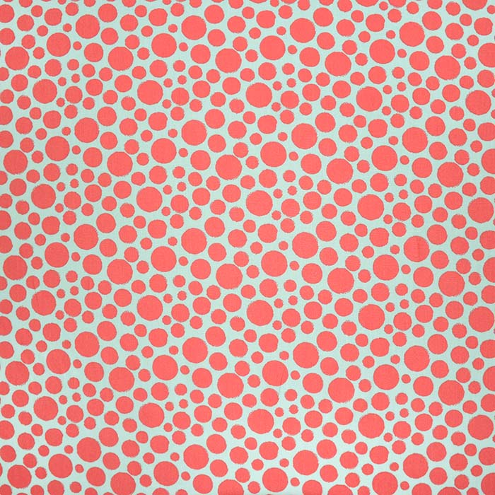 Bombaž, poplin, pike, 23955-004, mint-roza