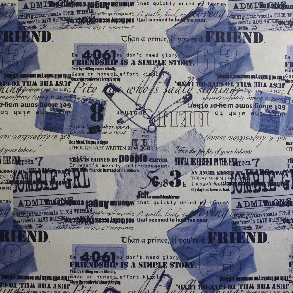Deco, print, inscriptions 11879