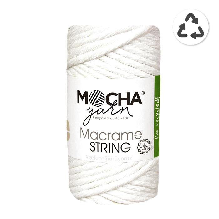 Pređa, Macrame String 4 mm, 24315-4, boja vrhnja