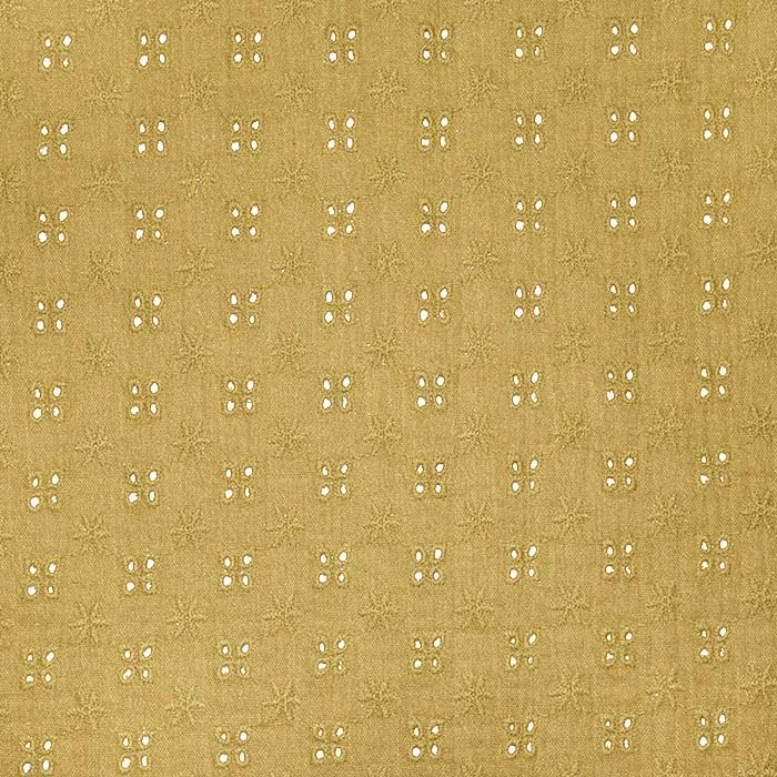 Tetra tkanina, dvojna, rišelje, 22719-054, oker