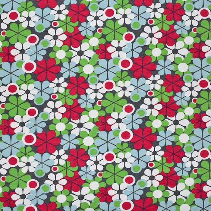 Jersey, bombaž, cvetlični, 25201-53