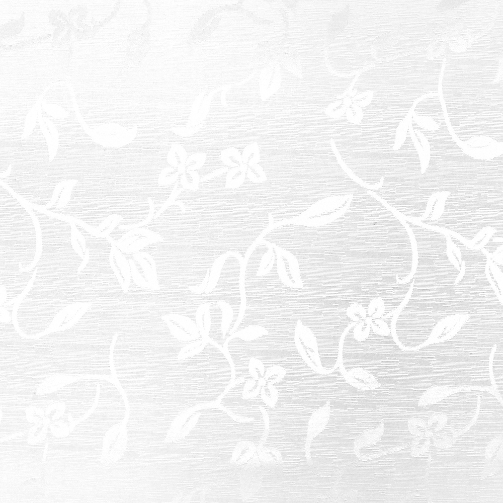 Otoman, žakard, 4146-101, bela