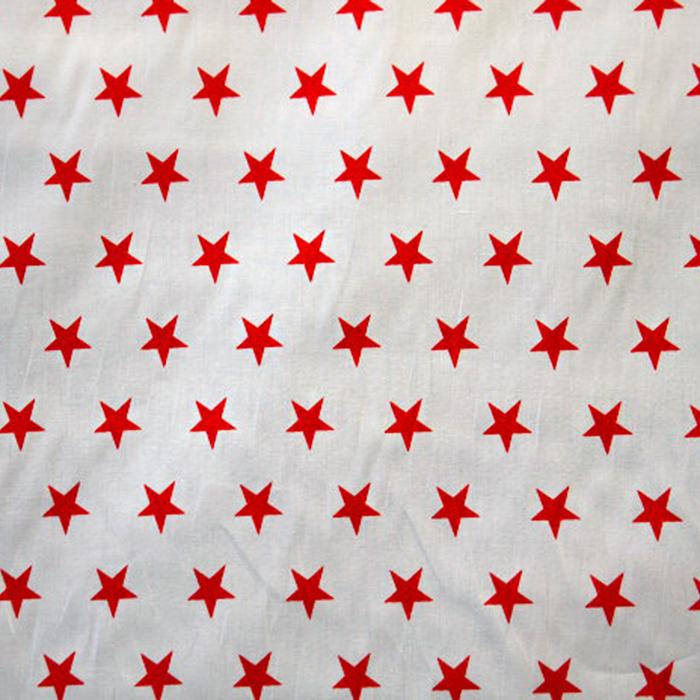 Bombaž, poplin, zvezde, 12569-315