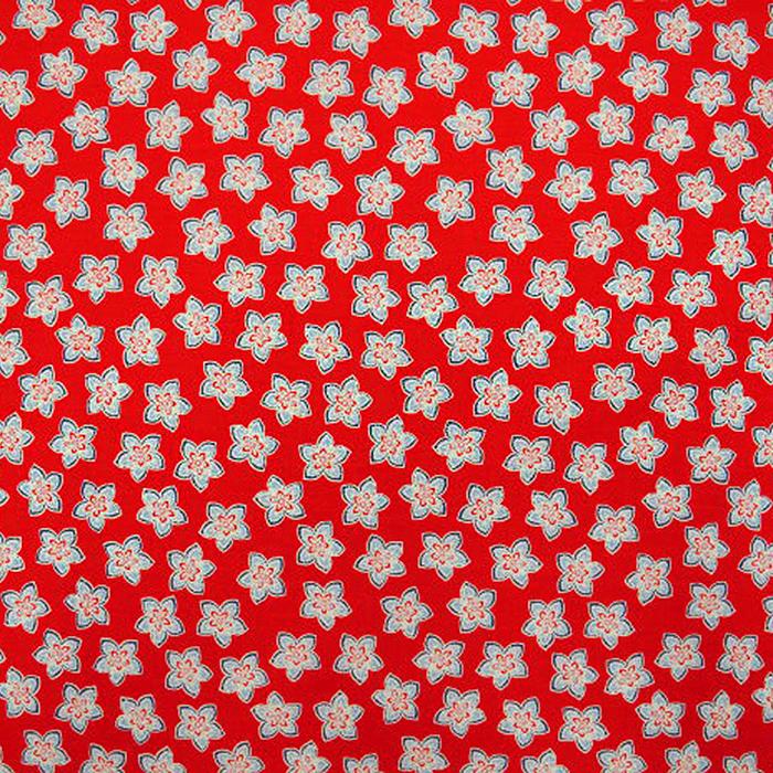 Bombaž, poplin, cvetlični, 12673-03