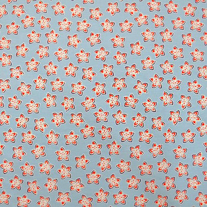 Bombaž, poplin, cvetlični, 12673-04