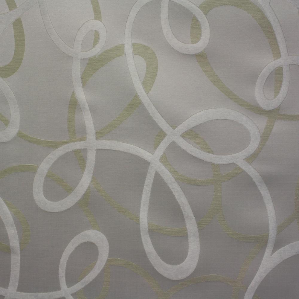 Deko, krivulje, srebrne, 12596-6240