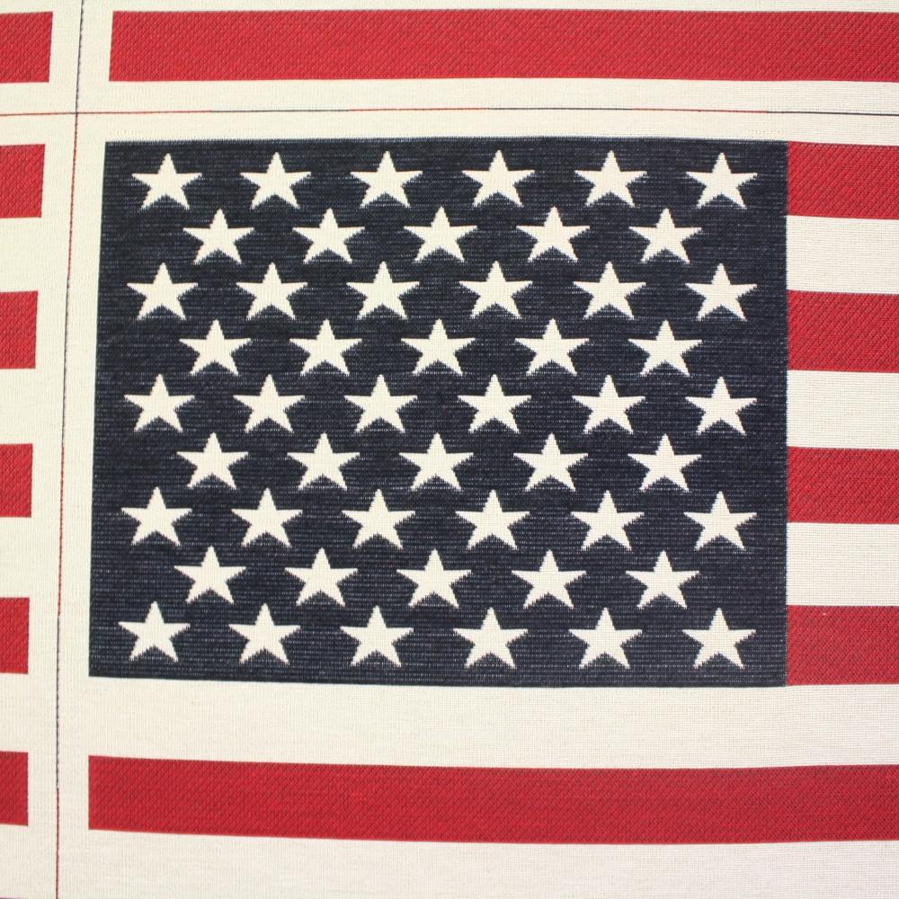 Deco jacquard, USA flag, 12658-70