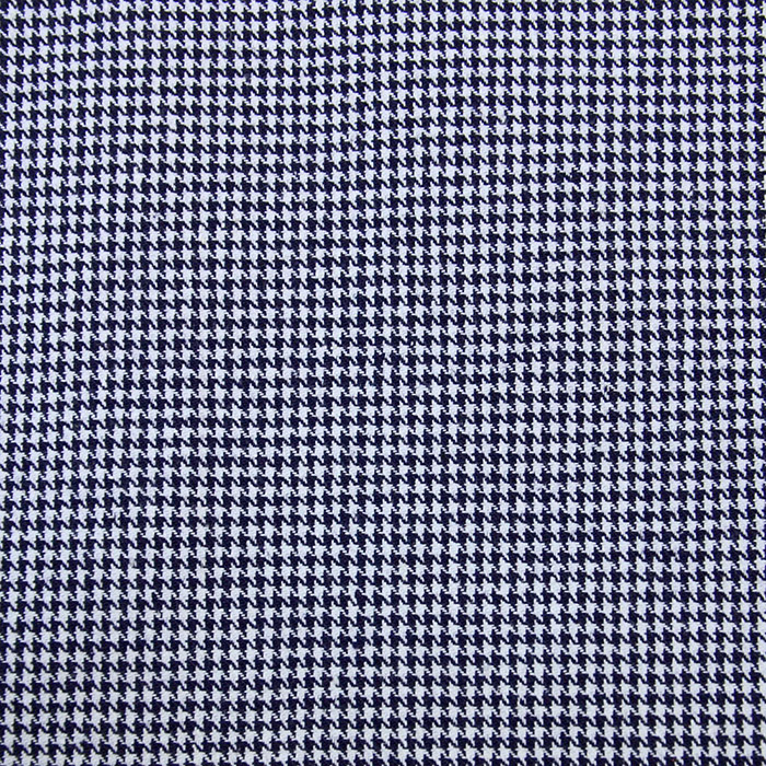Cotton, twill, pepita, 13029-01, dark blue