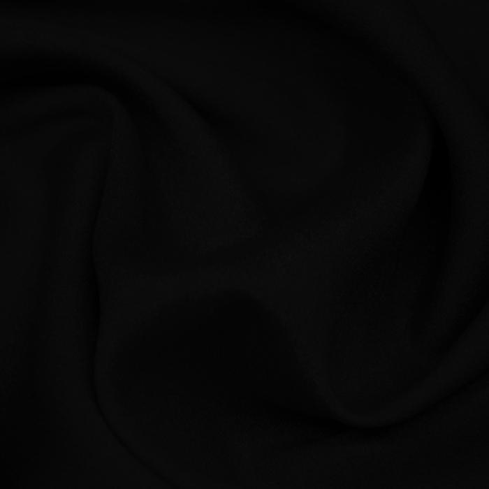 Šifon krep poliester, 13176-39 črna
