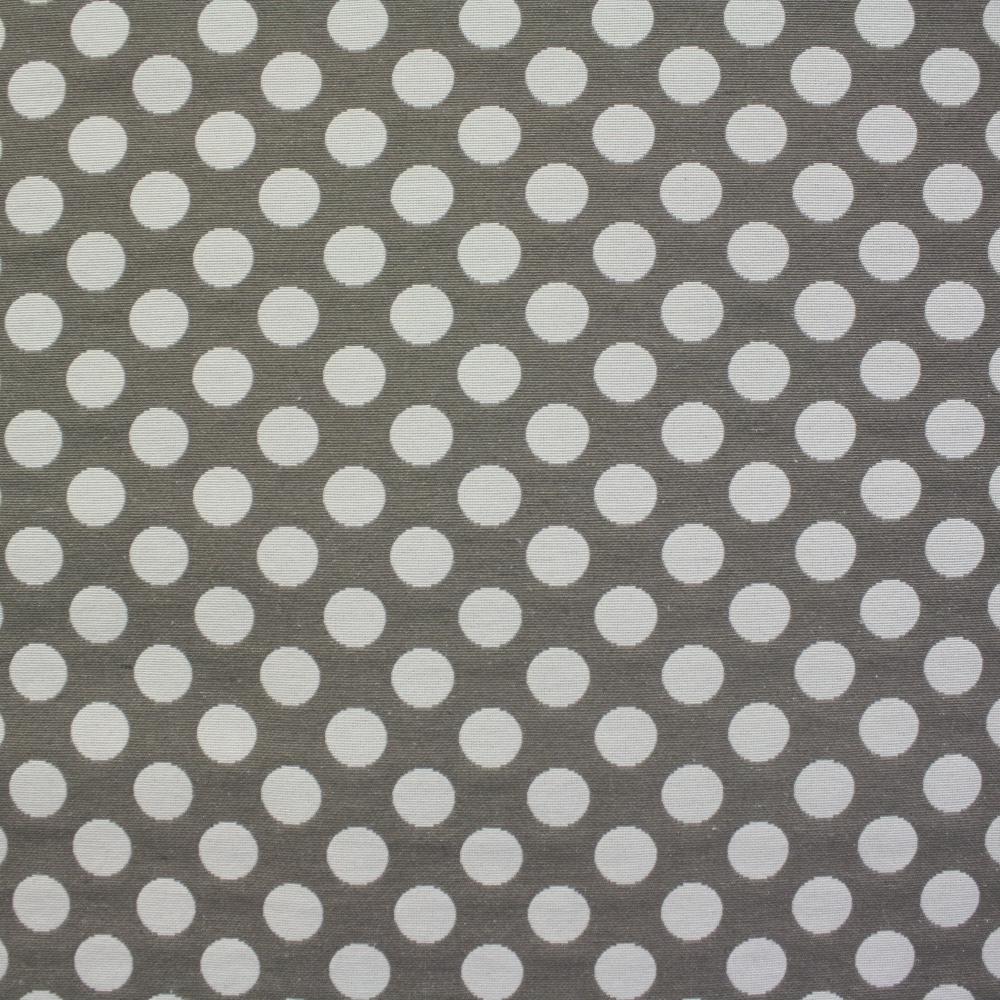 Deco jacquard, dots, dark beige, 13181-1001