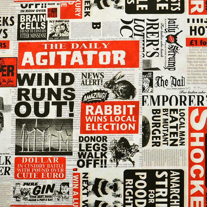 Deco, print, newspaper, 13322-01