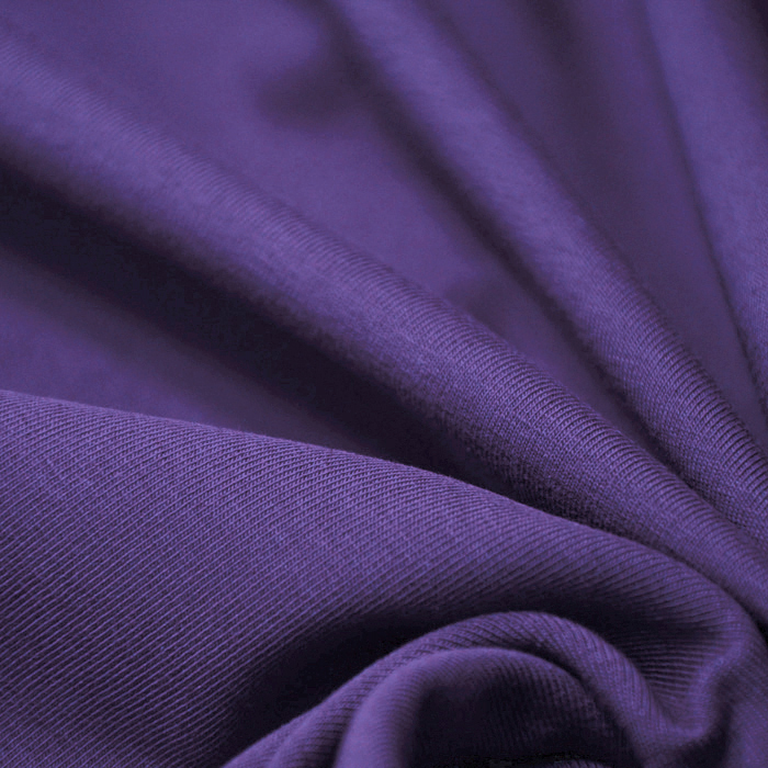 Jersey, bombaž, 13335-19, vijola
