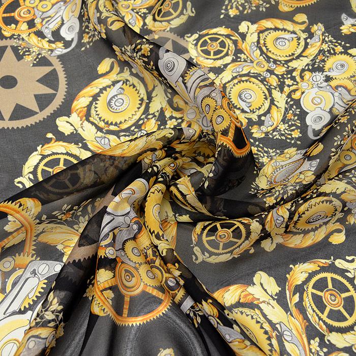 Svila šifon, vzorec 14021-13