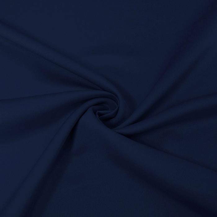 Saten, mikropoliester, 14171-012, temno modra