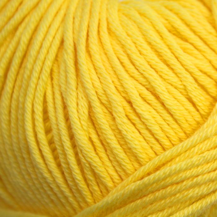 Pređa, pamuk, žuta, 14733-19