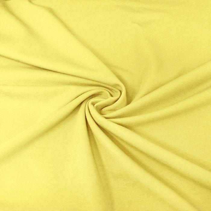 Jersey, bombaž, 13335-8, rumena