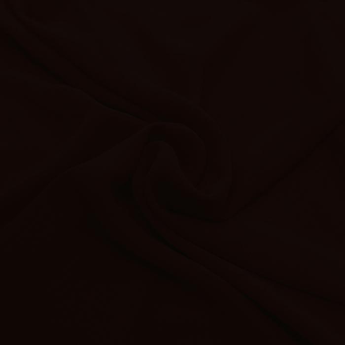 Šifon, poliester, 4143-28A, temno rjava