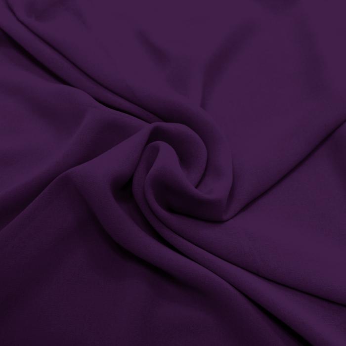 Šifon, poliester, 4143-10E, temno vijola