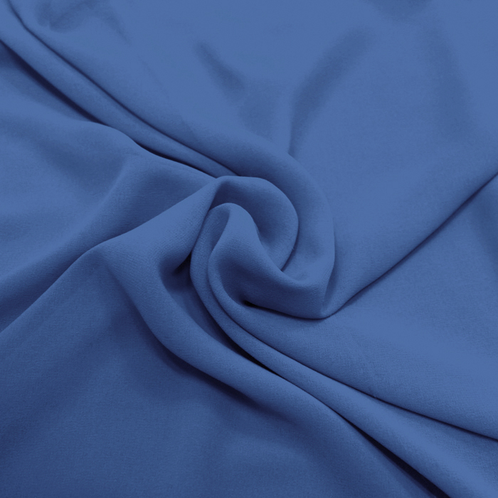Šifon, poliester, 4143-15, modra