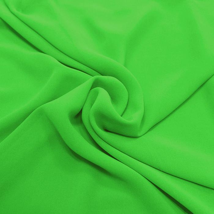 Šifon, poliester, 4143-22C, zelena