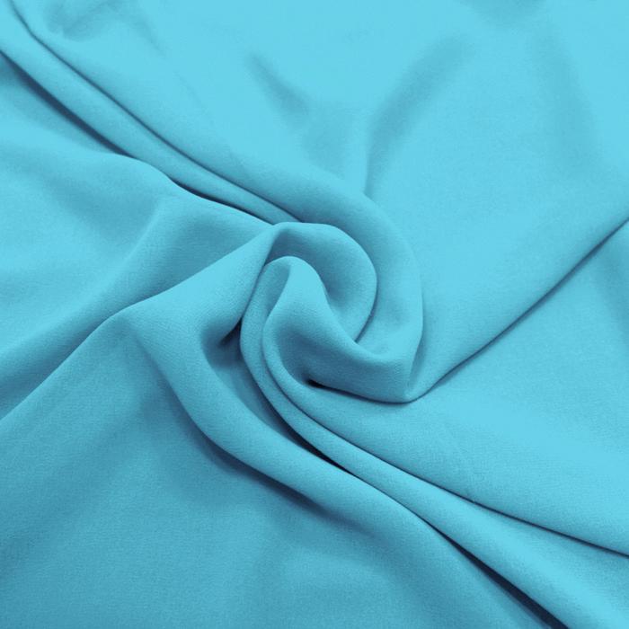 Chiffon, Polyester, 4143-14C, hellblau