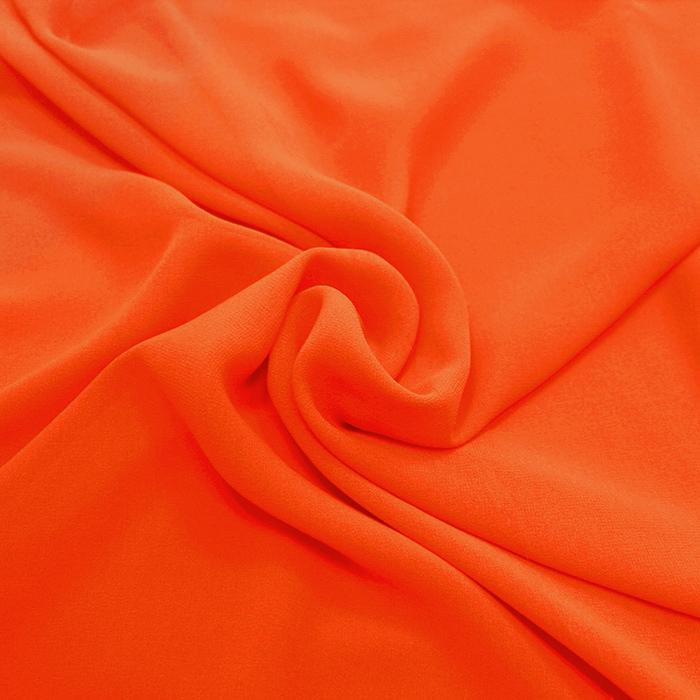 Šifon, poliester, 4143-19, oranžna