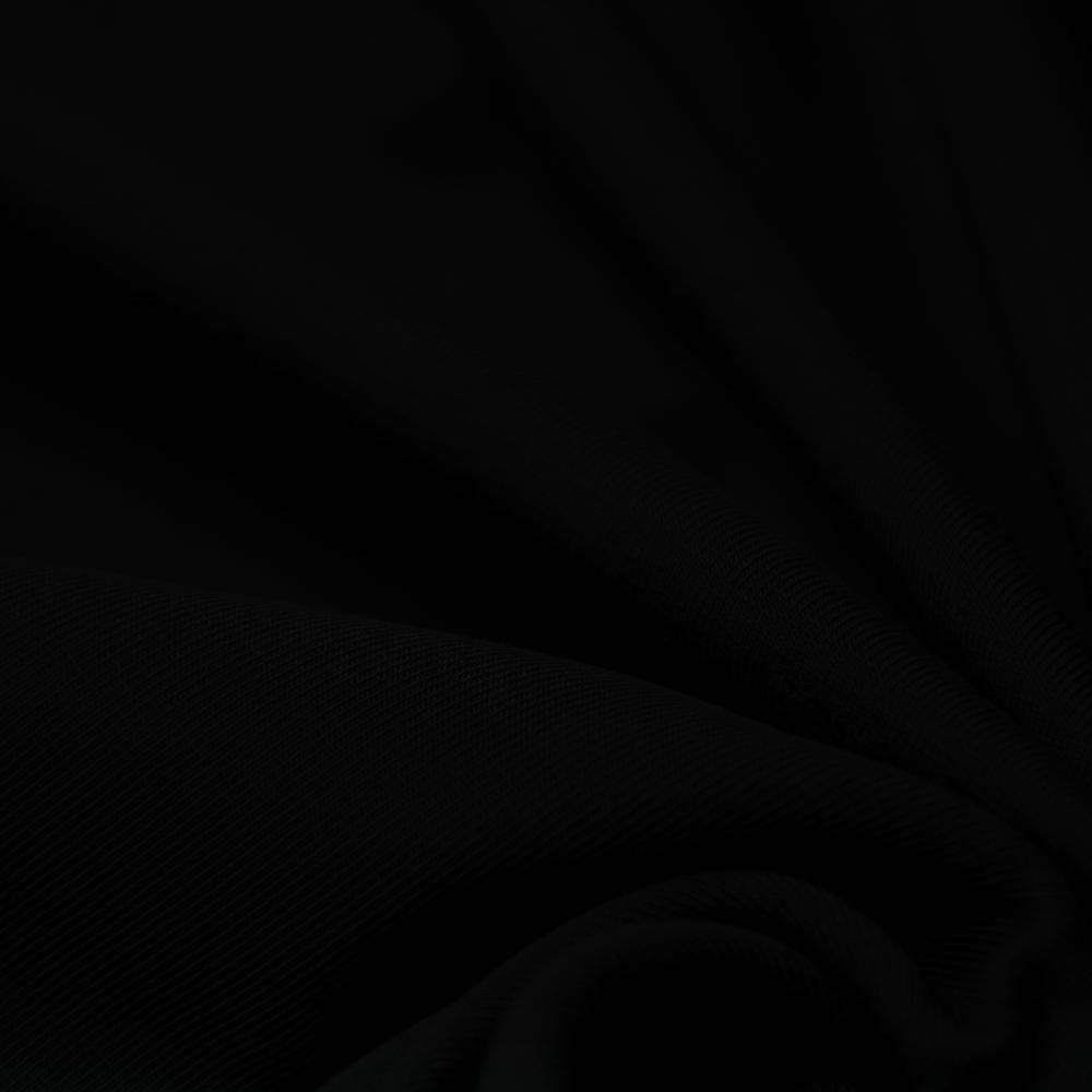 Jersey, bombaž, 13335-21, črna